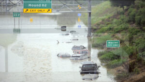 Flooding in Detroit