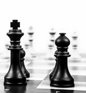Computer chess was on Axelrod's mind when he created the Prisoner's Dilemma tournament. (Image: Stock.)
