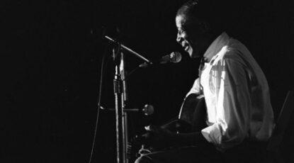 Son House, Ann Arbor Blues Festival, 1969.