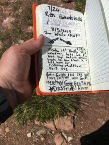 Cream Puff Peak book (Image: Heather Foote.)