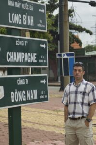 As part of his process, Stern visited his father's outpost in Vietnam in 2009. (Image courtesy of Greg Stern.)