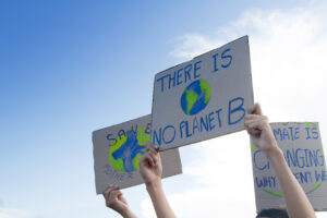 Protesters: There is no Planet B