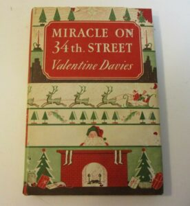 A first edition of Miracle on 34th Street