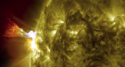 Image of the sun from NASA