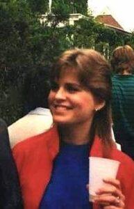 Editor Deborah Holdship circa 1985