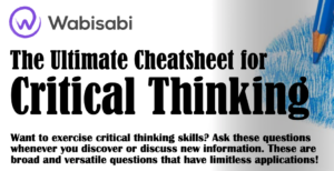Critical thinking graphic