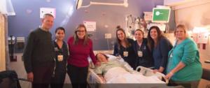 Nurses rally around the Clarks