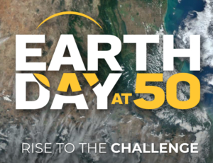 Graphic re: Earth Day at 50