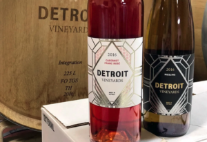 Detroit Vineyard bottles