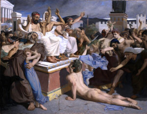 Painting of Pheidippides