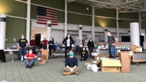 Students collect donations