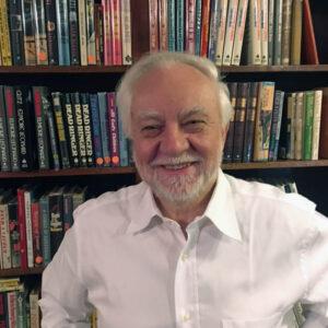 Otto Penzler at bookshop