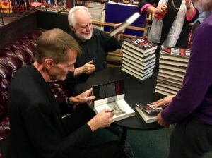 Penzler with Lee Child