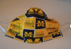 Michigan face mask