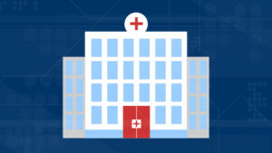 Graphic of hospital