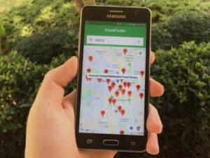 FoodFinder app