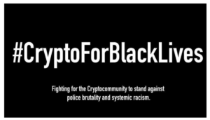 Crypto black lives graphic
