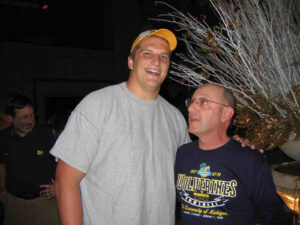 Kolins with Jake Long