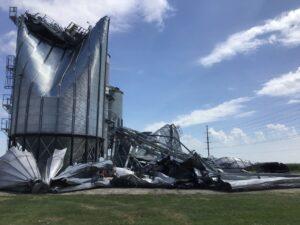 Iowa derecho damage