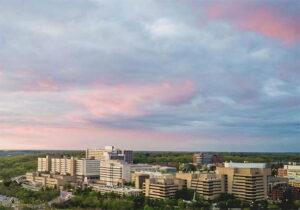 Sunrise at Michigan Medicine