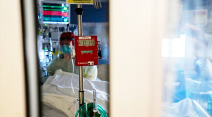 ICU bedside at UMHS