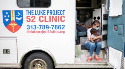 Luke Clinic mobile care unit