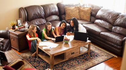 Girls study