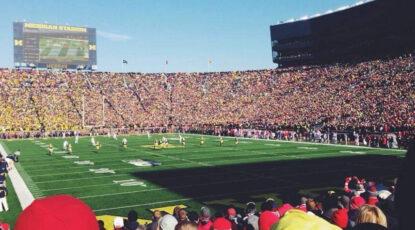 Michigan Stadium -- Ohio State Game