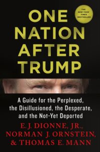 One nation after Trump book cover
