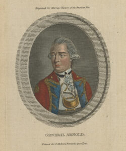 Color portrait of Benedict Arnold