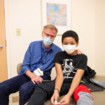 Doc with pediatric patient
