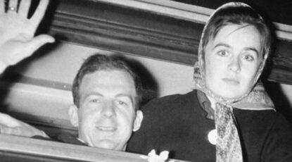 Lee Harvey and Marina Oswald
