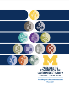 Carbon neutrality report