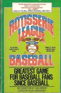 A copy of Rotisserie Baseball book, 1984