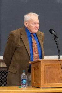 U-M professor emeritus of biology Thomas Moore in 2018