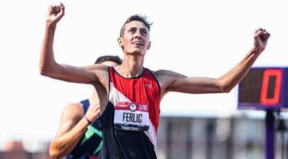 Mason Ferlic qualifies for the 2021 Olympics