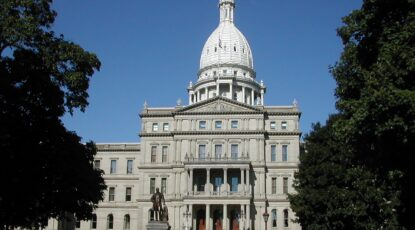 Michigan State Capitol via Wikipedia