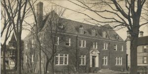 The Chi Psi Lodge in 1900