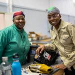 Women welders