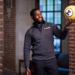 Michigan man twirls soccer ball