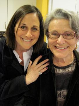 Lisa (left) and Sandra Garber.