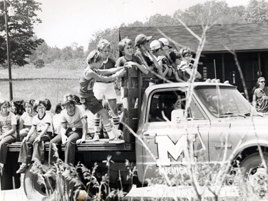 Says one frequent visitor, 'Where can you go with your kids and say to your kids, See you in four hours and have fun? You know they'll be safe.' (Photo courtesy Alumni Association of U-M.)