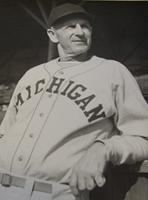 Ray Fisher in his Michigan Baseball uniform