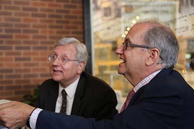 Mann and Ornstein in 2012.