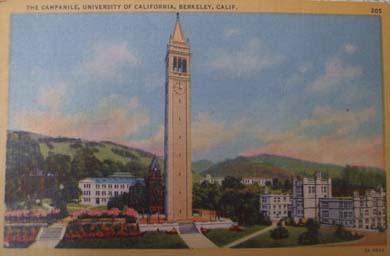 Saarinen Tower at Berkeley.