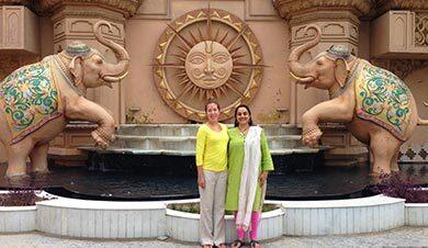 Kuznia and Singh in New Delhi