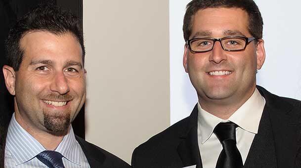 The Hoffman brothers, courtesy of Derek Hoffman