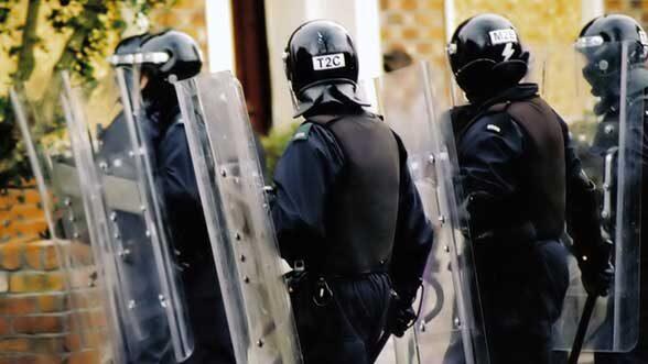 Militarized police, stock
