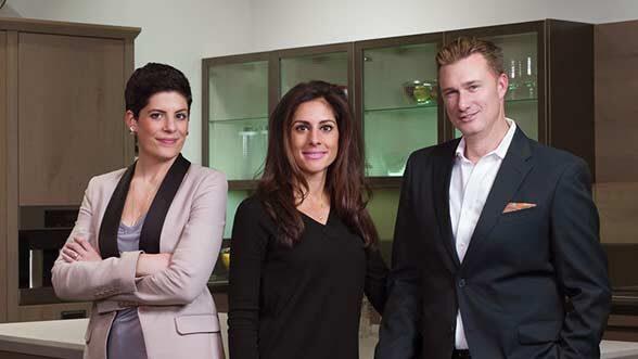 Niki Serras, Alisha Serras, and Brian Gamache. (Image courtesy of the Serrases.)