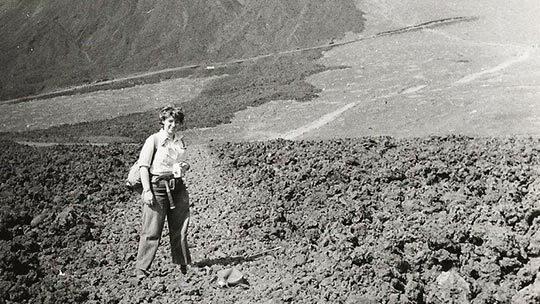 Helen Foster, Oshima, Japan, 1951